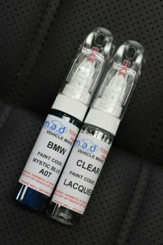 Bmw mystic blue a07 touch up paint pen 1 3 4 5 series 6 x3 x5 x 6