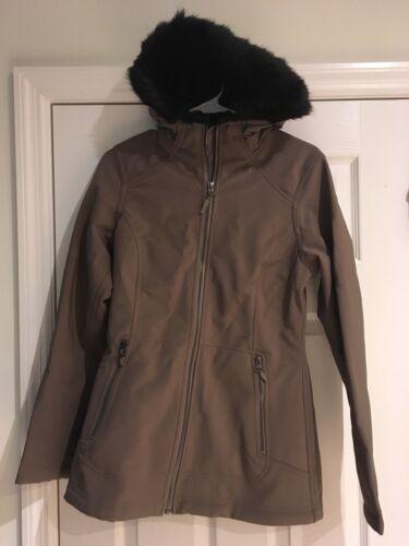 Warm femmes gratuite capuche Petit Marmot de Manteau Tranquility Livraison à Mocha pour 0wOIq