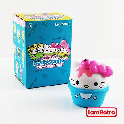 Kidrobot Hello Sanrio NEW 2//24 Opened Blind Box Kitty Gudetama Ice Cream
