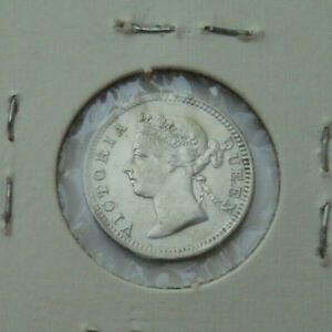 Straits-Settlements-1901-5-Cents-800-Silver-Coin