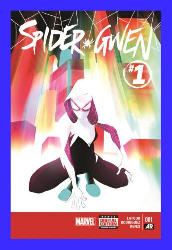 SPIDER GWEN #1 FIRST PRINTING x 10 COPIES REG COVER VERSE NEW MARVEL NOW WOMAN