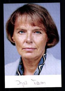 Ingrid-Granzen-Autogrammkarte-Original-Signiert-BC-29814