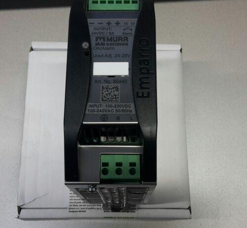 Murr Netzteil Emparro 85440 24VDC 5A Neu OVP,