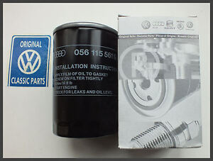 VW-MK2-Golf-Audi-amp-Lots-More-Genuine-Oil-Filter-056115561G