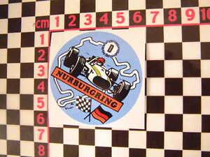 Nurburgring-Sticker-BMW-2002-1602-Mercedes-Isetta-NSU-Prinz-MGB-Mini-Cooper-S