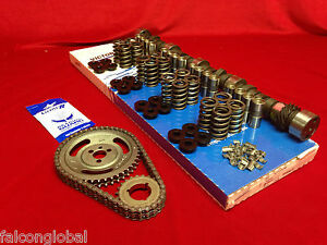 Chevy-305-350-Torque-RV-Ultimate-COMPUTER-Cam-K-Kit-204-214-springs-timing