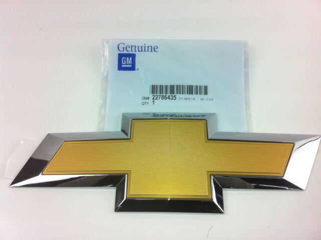 Gm 2014 2016 Chevy Silverado Bowtie Tailgate Emblem Oem 22786435