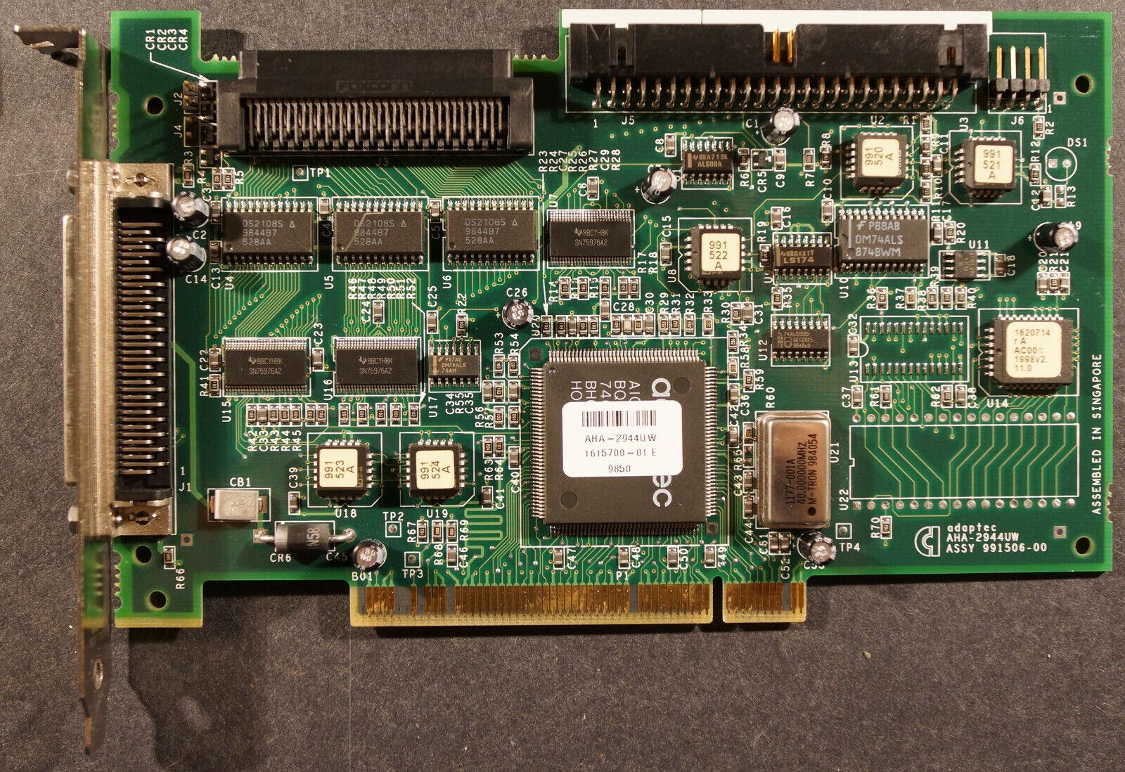 SCSI Port Cards Adaptec Dual Channel SCSI PCI NEW AHA-3940UW ...