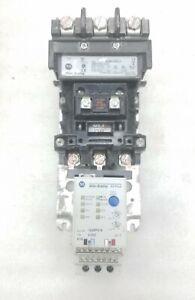 Allen-Bradley Starter 509-COD Size 2 120V Coil w/ 592-EC2DC Overload - NICE