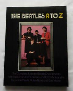 The-BEATLES-A-to-Z-The-Complete-Illustrated-Beatle-Encycopedia-U-K-1981-NMINT