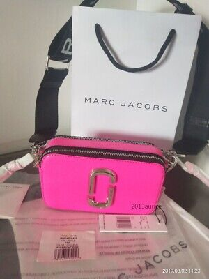 Damen Tasche Marc Jacobs Snapshot Small Camera bright pink Neu & Original | eBay