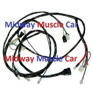 image is loading front-end-headlamp-light-wiring-harness-58-59-