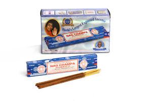Nag-Champa-Satya-Sai-Baba-Incense-Sticks-15gm-x-12-Box-Pack-Authentic-Original