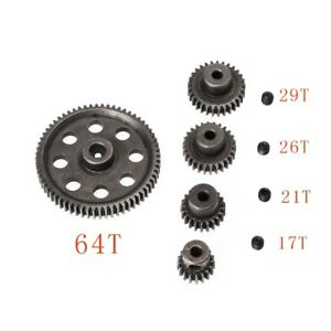 HSP-RC-1-10-11176-amp-11184-Differential-Steel-Main-Gear-17-64T-Motor-Gears-Parts