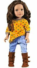 Ebuddy T-Shirt Jeans Outfit Sets Doll Clothes For 18 Inch American Girl New