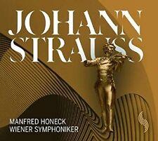 MANFRED/WIENER SYMPHONIKER (WSO) HONECK - JOHANN STRAUSS  CD NEU STRAUß