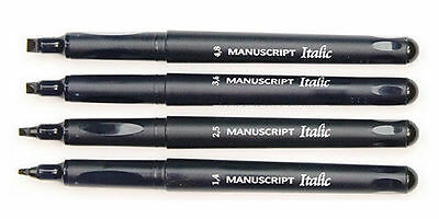 Lineplus Calligraphy Callicreative Marker  Italic Marker Fiber Tip Chisel Point