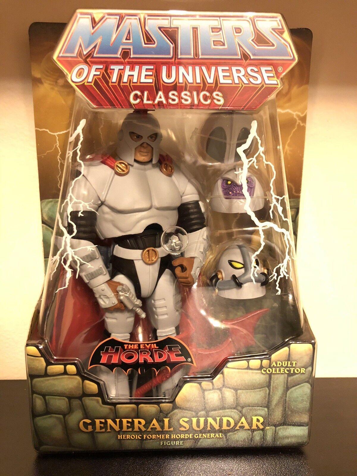 Masters of the Universe Classics General Sundar MOTU