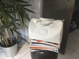 Blanc Bowling Sac Bowling Verni Sac Longchamp Longchamp PWHYw1nqwT