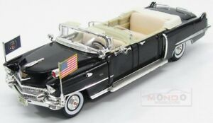 Cadillac Limousine Présidentielle Cabriolet Eisenhower 1956 Chanceux 1:24 Ldc24038