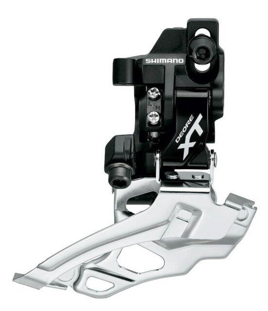 Shimano FD-M786D MTB Front Derailleur 10-Speed 38//44T Direct Mount Take-off