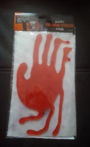 Halloween Gel Window Stickers Clings Happy Halloween free uk p/&p