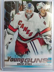 DAVID-AYRES-SP-YOUNG-GUNS-RC-2019-20-UD-SP-AUTHENTIC-ROOKIE-CARD-HURRICANES-7