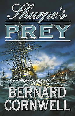 1 of 1 - Sharpe's Prey, Bernard Cornwell, HARDBACK