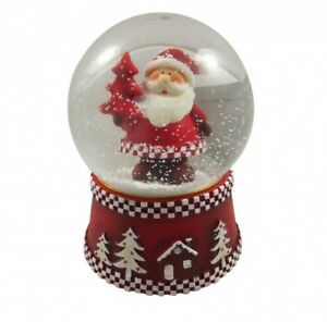 Christmas Snowglobes.Details About Gisela Graham Father Christmas Snowglobe Decoration Beautiful Snow Globe