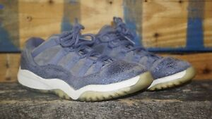 5627e6b2ea59 Air Jordan Xi 11 Retro Low GP Blue Moon White Sz 1 PS Kids Shoes ...