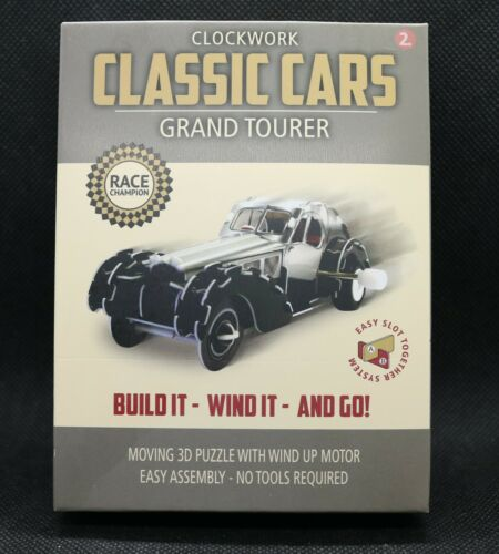 Clockwork Classic Cars Grand Tourer build It Wind It and Go