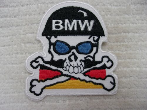 BMW   NEW  EMBROIDERED  IRON ON NAME PATCH TAG