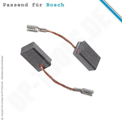 beachten Kohlebürsten Kohlen für Bosch GWS 9-125 P 6x10mm 1607000V37 Geräte Nr