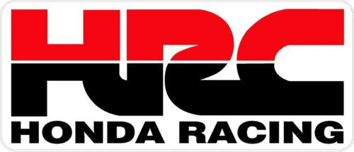 "#p115 1 9.75"" Honda HRC CBR Racing Logo Emblem Decal Sticker Laminated"