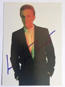 Marius Müller Westernhagen signiert Original Autogramm Unterschrift Signatur