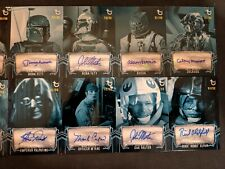 2019 Topps Star Wars ESB Black & White Blue Hue Auto: Pick From List