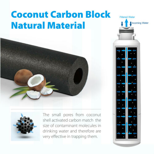 Refresh LT1000P Refrigerator Water Filter Fit LT1000PCS ADQ747935 MDJ64844601 -4