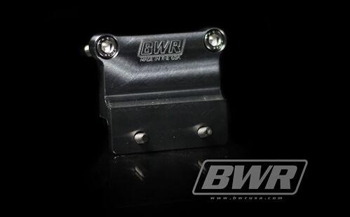 BLACKWORKS BWR EXTERNAL WELDON FPR FIREWALL BRACKET FUEL PRESSURE REGULATOR
