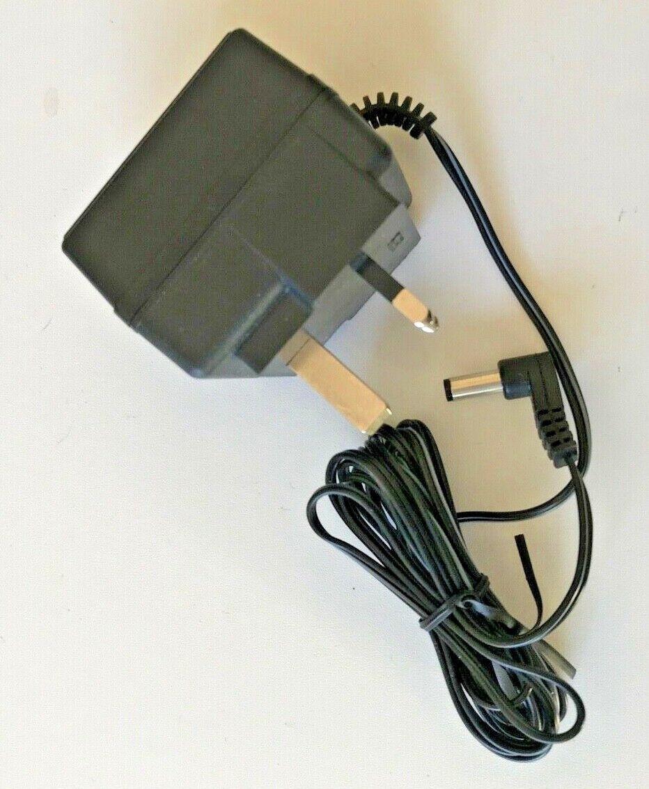 12Vdc 0.6Amp UK 3 Pin Mains Power Supply Adaptor 2.1 x 5.5mm Output Pin