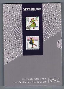 Jahrbuch-1994-komplett-postfrisch-mit-Hologramm-und-SD-17-im-Schuber