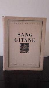 Raymond-Escholier-Sang-Gitana-1933-Dibujos-De-Malaga-Grenet