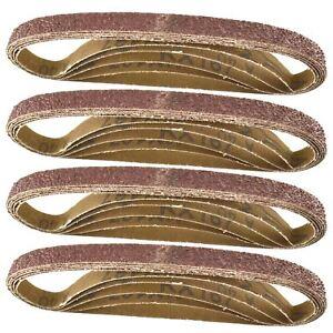 Belt-Power-Finger-File-Sander-Abrasive-Sanding-Belts-457mm-x-13mm-40-Grit-20-P