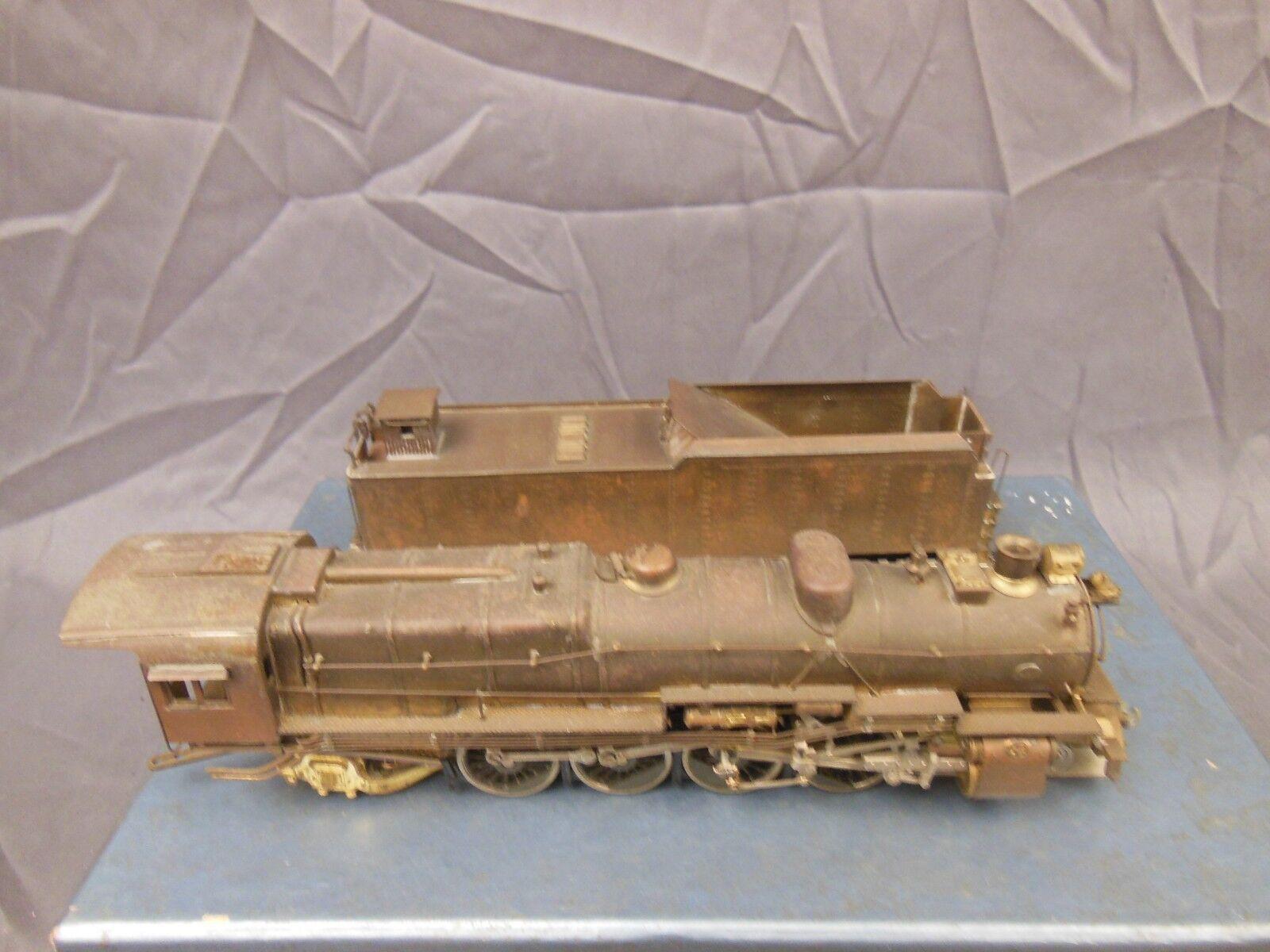 Escala Ho Latón Joya Guild DH-101 clase de Pennsylvania M-1 4-8-2 Locomotora de montaña