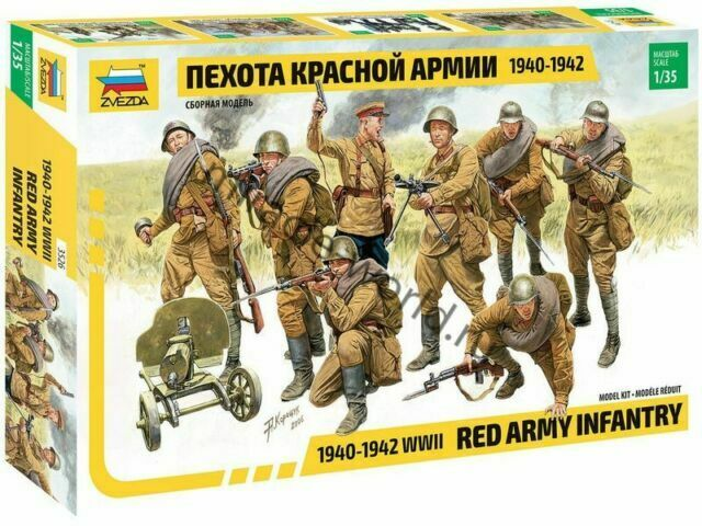 Toys & Hobbies ICM 1/35 35551 WWII Soviet Red Army Medical Personnel 4  Figures 1943-1945 mksdabrowka.pl