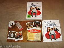 How I met your Mother Season 1 Digipak Schuber 3DVD Box 2009 Sitcom Staffel 1***