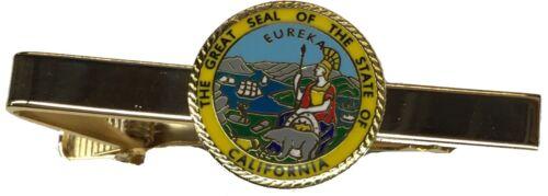 California Seal Tie Clip