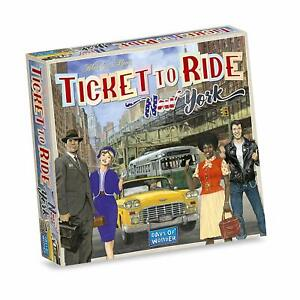 Ticket-To-Ride-New-York-1960-Board-Game-Days-Of-Wonder-DOW-DO7260-Quick-Play