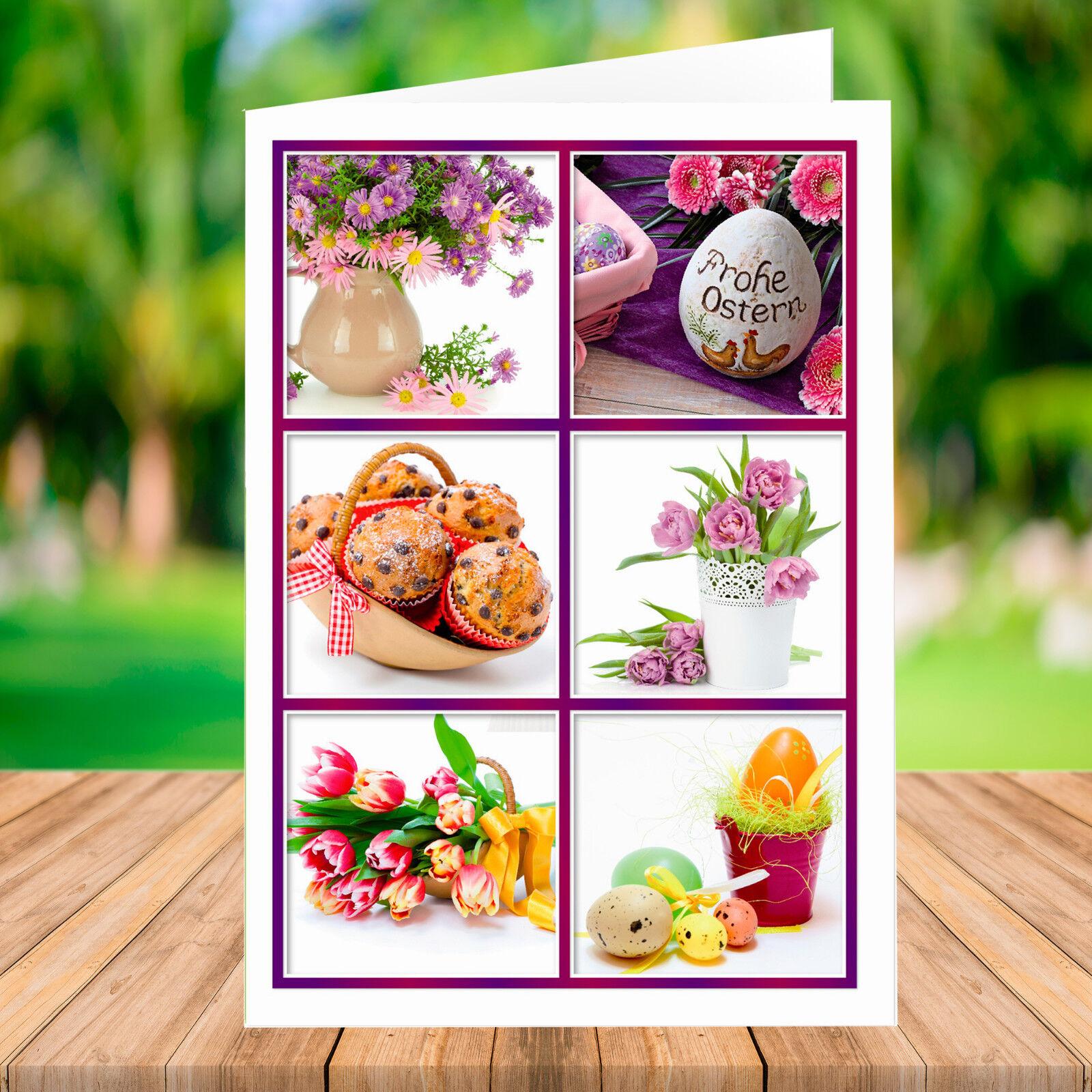 10   20   50   100 PREMIUM Osterkarte mit Umschlag - Grußkarte Ostern   | Günstig  | Elegant Und Würdevoll