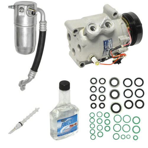 A//C Compressor kIT Fits Buick Rainier Chevrolet Trailblazer Envoy Saab 77548
