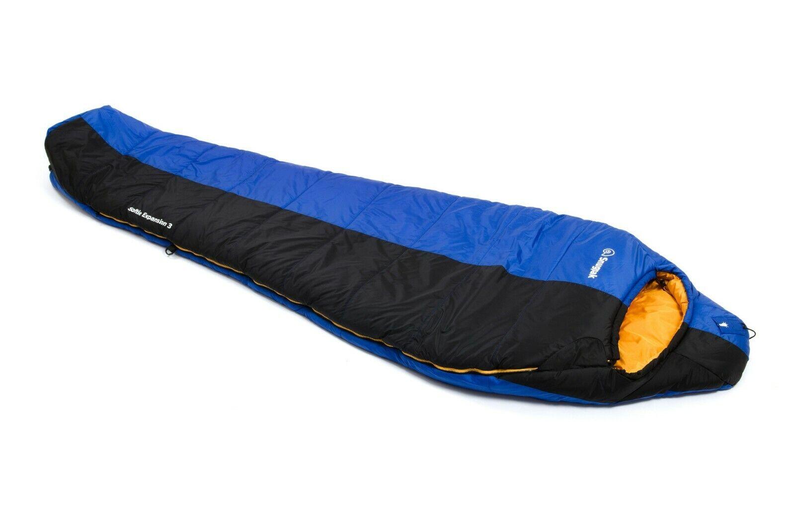 Saco de Dormir de Expedición de 3 Estaciones Softie la Expansión 3 de Snugpak